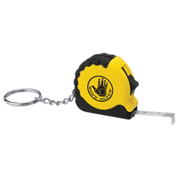 Printed Pocket Pro Mini Tape Measure / Key Chain