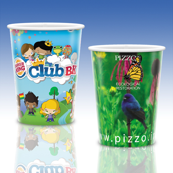 Custom Visstun® 17oz Heavy Duty Paper Cold Cup-Full Color