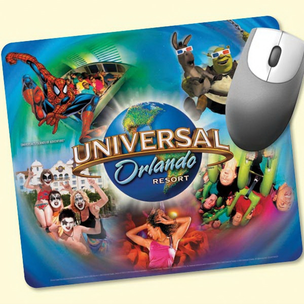 "Imprinted Origin'L Fabric® 7.5""x8.5""x1/4"" Fabric Mouse Pad"