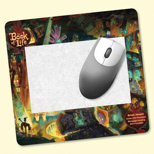 "Customized Frame-It Flex® 7.5""x8""x1/8"" HD Window Mouse Pad"