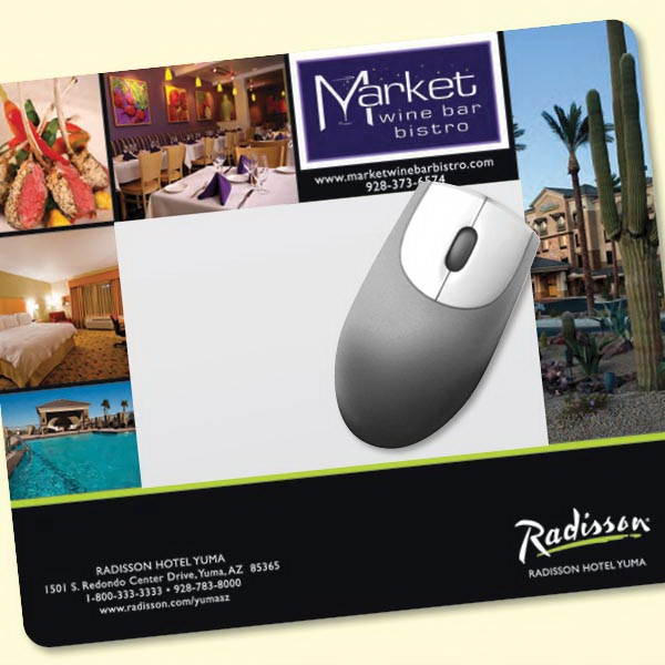 "Printed Barely There (TM) Frame-It Flex® 8""x9.5""x.020"" Mouse Pad"