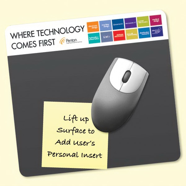 "Printed Frame-It Lift® 7.5""x8""x1/16"" Window Mouse Pad"