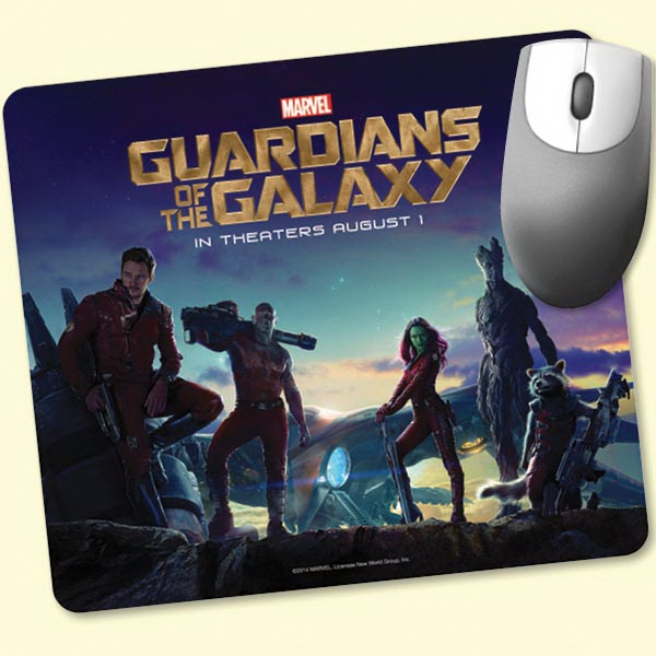 """Personalized Vynex® Heavy Duty 7.5""""x8.5""""x1/8"""" Hard Surface Mouse Pad"""