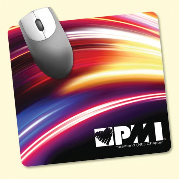 "Personalized Barely There (TM) 7.5""x8""x.020"" Ultra Thin Mouse Pad"