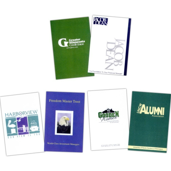 "Personalized Legal Size Presentation Folders 9 1/2"" x 14 3/4"""