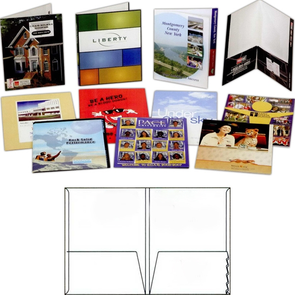 Personalized Gloss Finish Presentation Folder
