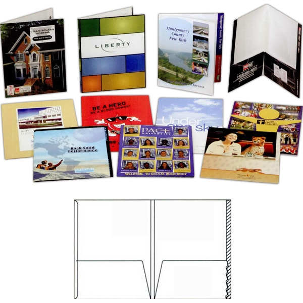 Printed Gloss Finish Presentation Folder
