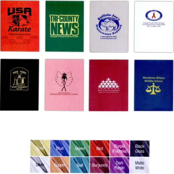 Promotional Solid Color FastFolders (R) with Foil Stamping