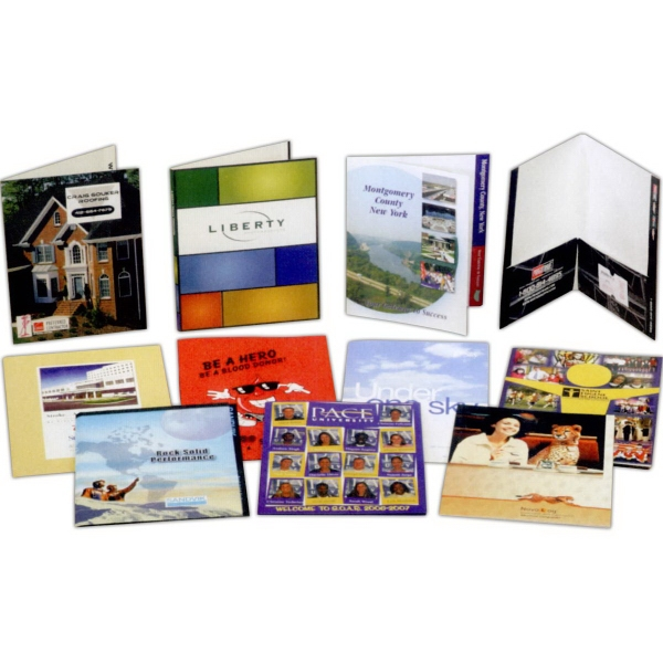 Personalized Film Laminated presentation Folder