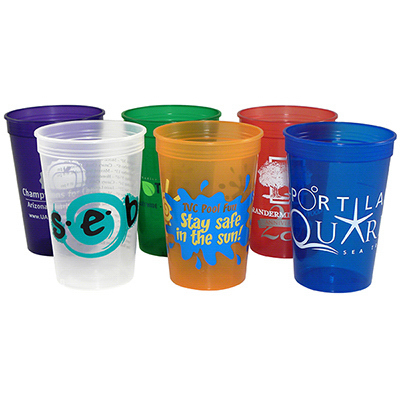 Promotional 16 oz Jewel Stadium Cup