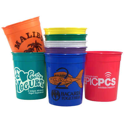 Personalized 32 oz Casino Cup