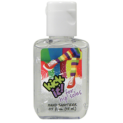 Promotional 0.5 oz Custom Label Sanitizer