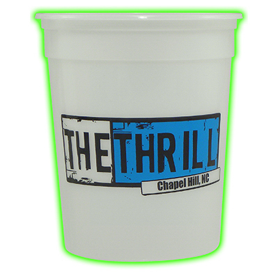 Customized 32 oz Glow Casino Cup