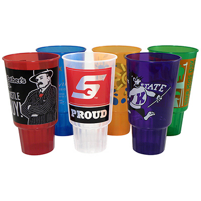 Personalized 32 oz Car Jewel Stadium Cup