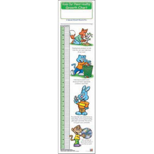 Personalized Keep Our Planet Healthy Growth Chart