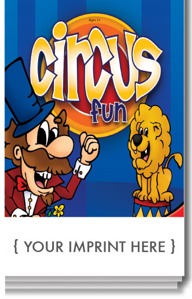 Promotional Circus Fun Activity Pad