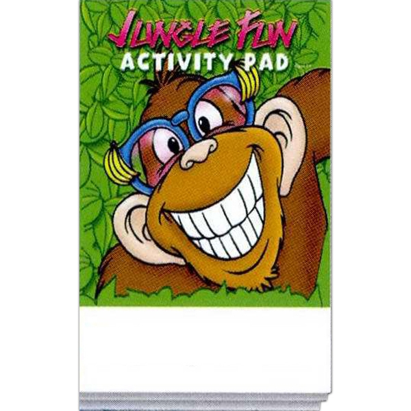 Imprinted Jungle Fun Activity Pad Fun Pack