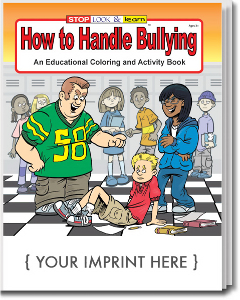 Imprinted How to Handle Bullying Coloring and Activity Book