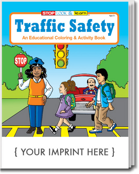 Personalized Traffic Safety Coloring and Activity Book