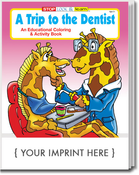 Promotional A Trip to the Dentist Coloring and Activity Book