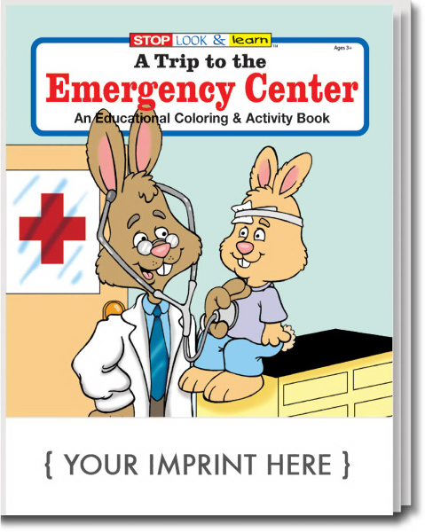 Promotional A Trip to the Emergency Center Coloring and Activity Book