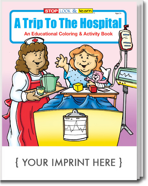 Custom A Trip To The Hospital Coloring and Activity Book