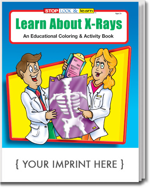 Printed Learn About X-Rays Coloring and Activity Book