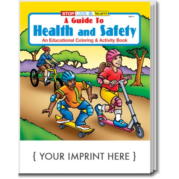 Customized A Guide to Health and Safety Coloring and Activity Book