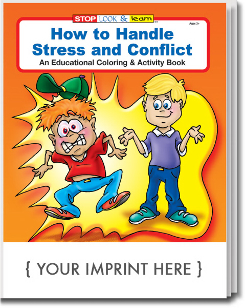 Promotional How to Handle Stress and Conflict Coloring and Activity Book