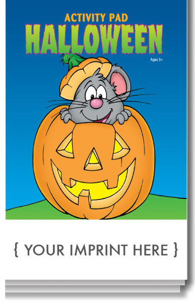 Customized Halloween Activity Pad