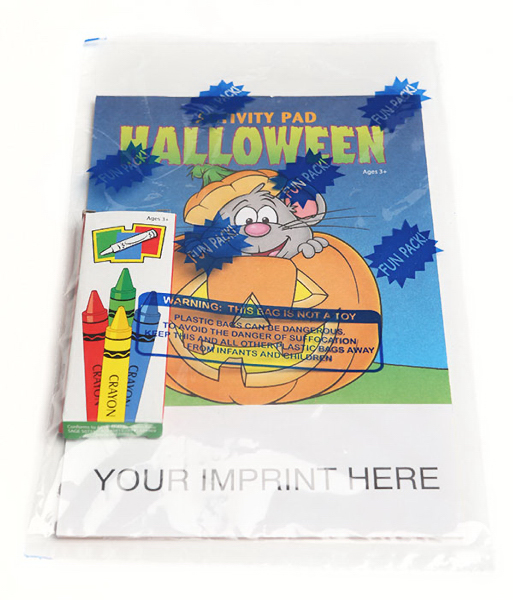 Printed Halloween Activity Pad Fun Pack