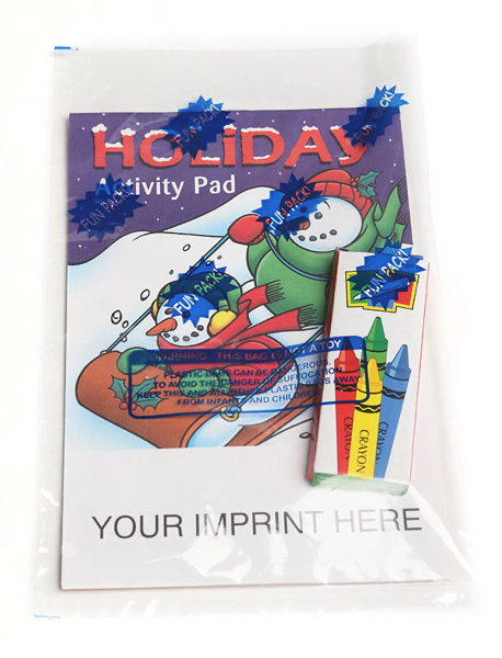 Promotional Holiday Activity Pad Fun Pack