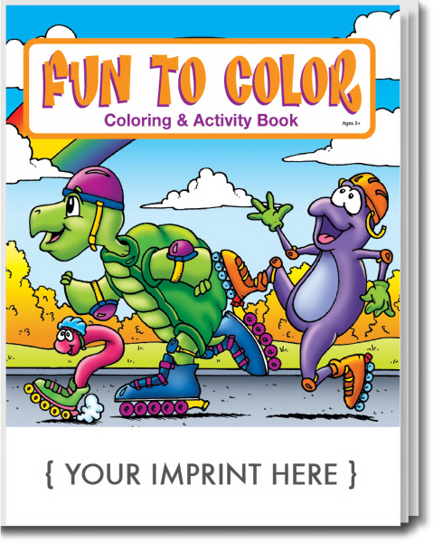 Imprinted Fun To Color Coloring and Activity Book