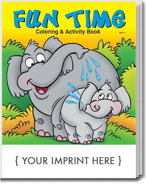 Promotional Fun Time Coloring and Activity Book
