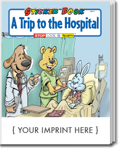 Personalized A Trip To The Hospital Sticker Book