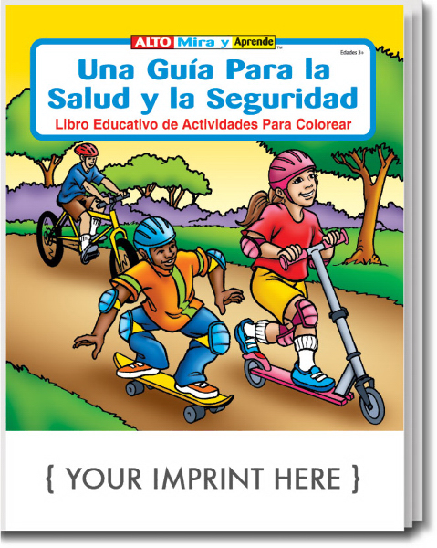 Printed Spanish Coloring and Activity Book
