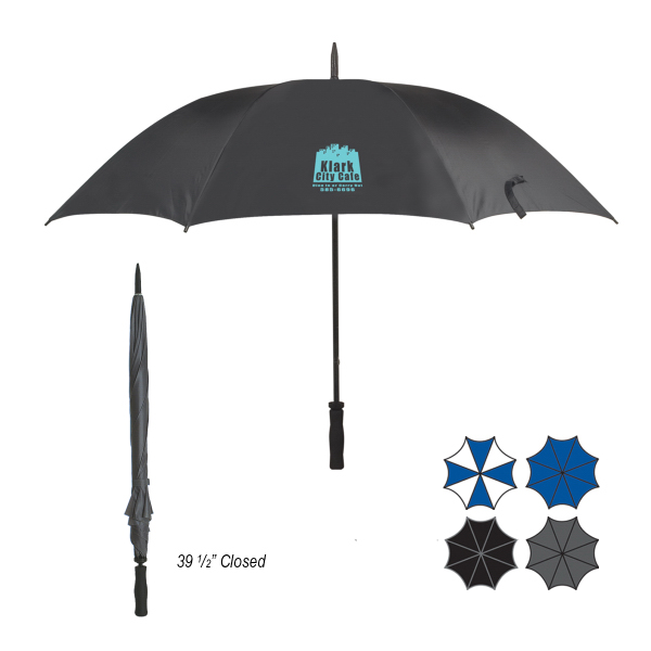 "Promotional 60"" Arc Ultra Lightweight Umbrella"