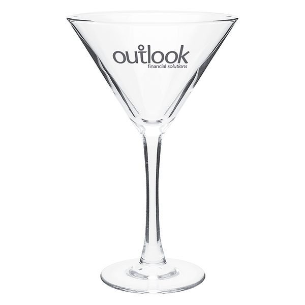 Imprinted 10 oz Martini Clear