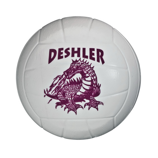 "Customized 3 3/4"" Plastic Volleyball"
