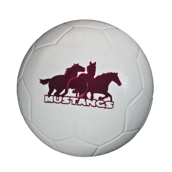 "Personalized 3 3/4"" Plastic Soccer Ball"