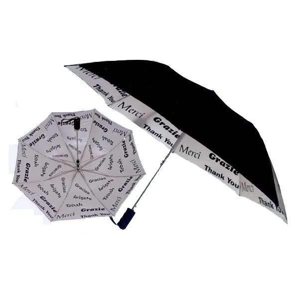 Imprinted A World of Thanks Umbrella
