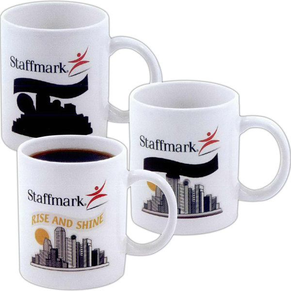 Customized Amazink (R) decal stoneware mug - 11oz
