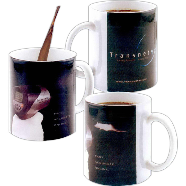 Custom Amazink (R) full color stoneware mug - 11oz