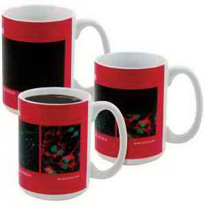 Personalized Amazink (R) full color stoneware mug - 15oz