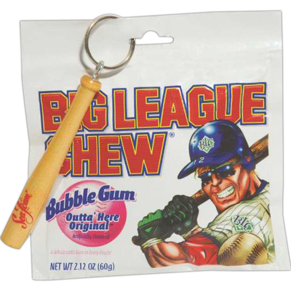Custom Big League Chew and Key Chain