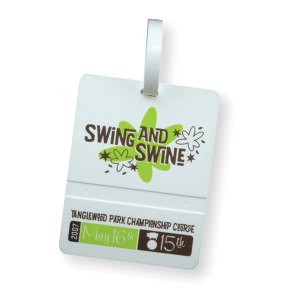 Imprinted Golf Bag Tag