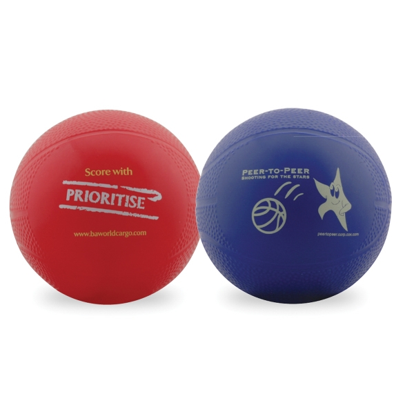 Imprinted Re-inflatable basketball