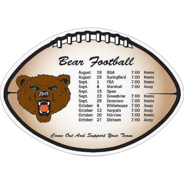 Customized Large Football Magnet - Series 040