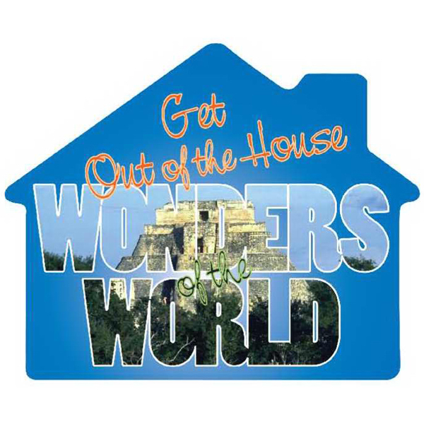 Printed Large House Magnet - Series 080