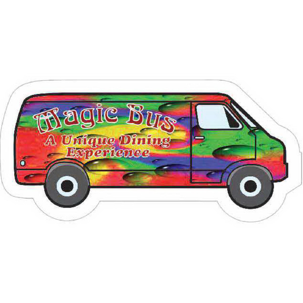 Personalized Large Van Magnet - Series 200
